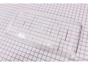 Cтекло передней фары (153x100мм) R190N