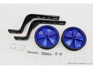 Колёса боковые универсальные, синие Lumari HR09