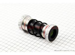 "Картридж-каретка ""Hollowtech II"" MTB 68-73мм, под интегрированную ось 24мм, Deore SM-BB52"