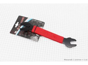 Ключ снятия педалей 15мм и гаек 16/17мм, YC-156A