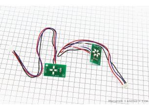 Платы зарядки батареи 6 диодов и включения 4 диода, к-кт