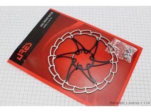 Тормозной диск 180мм, под 6 болтов, черный SG18