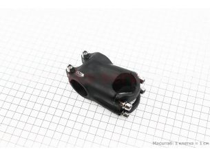 Вынос руля МТВ 28,6x31,8х50мм, алюминиевый, черный AS-020