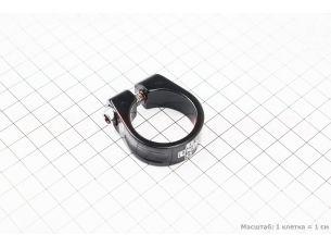 Зажим трубы сидения MTB 31,8мм (алюминиевой рамы), черный SC-200