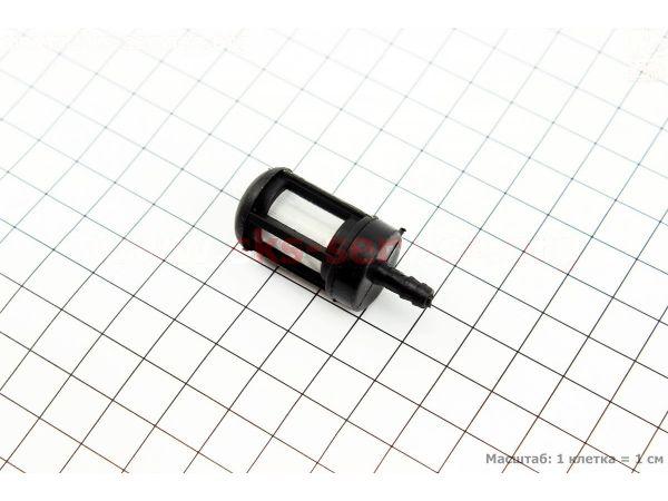 Фильтр топливный - элемент (сетка) d=4,7мм, D=18мм, L=43мм