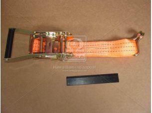 Стяжка груза 3t (трещотка пластик. ручка, лента 50mm.x0.5m., крюк) <ДК>