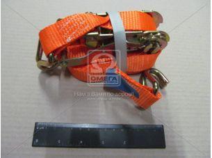 Стяжка груза, 1.5t. 27mm.x5m.(0.5+4.5) метал. ручка <ДК>