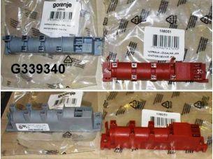 Блок поджига, генератор искры для газовой плиты Gorenje Mora 2 вх/6 выход 656579, 339940, 188051, 304906, 185871, 617411