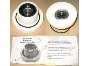 Блок подшипников суппорт бака для стиральной машины Electrolux Zanussi СOD 062 правая резьба 53188955271, 4071306494