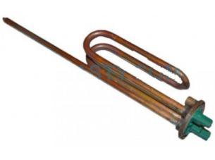 Тэн Thermowatt 1,5 кВат, фланец 48мм, резьба М6, гнутый c портом под анод для водонагревателя, бойлера