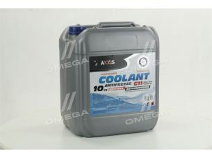 Антифриз BLUE G11 Сoolant  <AXXIS> (cиний)  (Канистра 10кг)