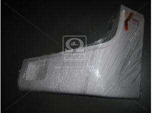 Буфер бампера Богдан 092 перед. левый (клык) белый RAL 9003 <ДК>