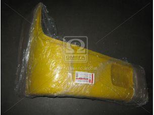 Буфер бампера Богдан 092 перед. правый (клык) желтый RAL 1023 <ДК>