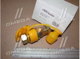 Головка соединительная Евро STANDARD М22х1,5  желтая (RIDER)