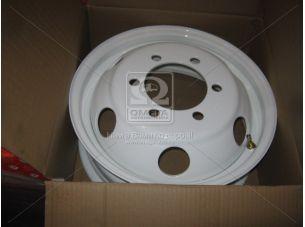 Диск колесный 16H2х5,5J ГАЗ 3302, IVECO белый  (круглые отв.) <ДК>