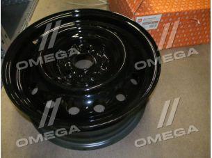 Диск колесный 16х6,5  5х114,3 ET45 DIA 60,1 (в упак.) черный <ДК> DK 1122180