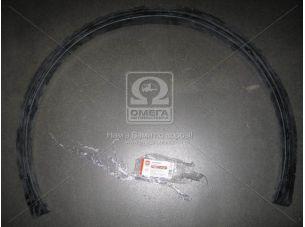 Защита арки Эталон  черная (узкая арка) <ДК>