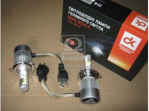 Лампа светодиодная H4 LED 6500K <ДК>