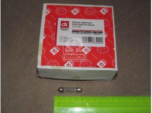 Лампа софитная C5W SV8,5-8 41mm 12V 5W  <ДК>
