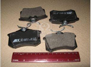 Колодка тормозная AUDI/FORD/SEAT/VW задн. (пр-во ABS) 36623/1