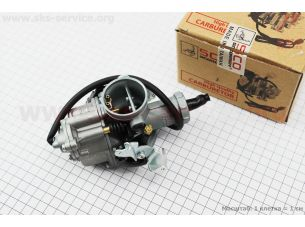 Карбюратор СВ/CG-200 (d=30), дросель под трос, с ускорительным насосом