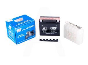 АКБ   12V 10А   заливной   (150x70x130, черный, mod:YT 12B-4)   (+электролит)   OUTDO