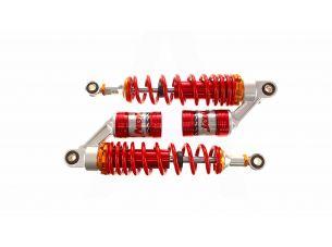 Амортизаторы (пара)   Delta   340mm, газомасляные   (красные)   EVO