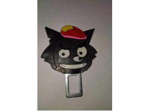 Обманка ремня безопасности   (большая)   BLACK CAT