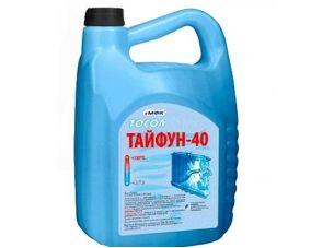 Охлаждающая жидкость   -40C, 5л   ПЭ кан (тосол, ТАЙФУН)   МФК   (#GRS)