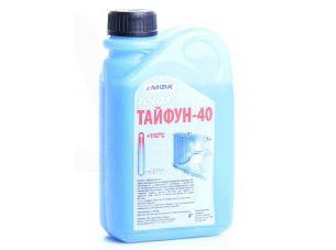 Охлаждающая жидкость   -40C, 1л   ПЭ кан (тосол, ТАЙФУН)   МФК   (#GRS)