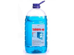 Охлаждающая жидкость   -40C, 5л   ПЭТ кан (тосол, ТАЙФУН)   МФК   (#GRS)