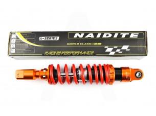 Амортизатор   GY6   350mm, тюнинговый   (оранжево-красный)   NDT