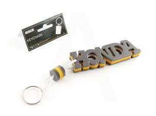 Брелок каучук   (серо-желтый)   HONDA   AS