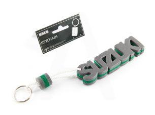 Брелок каучук   (серо-зеленый)   SUZUKI   AS