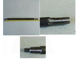 Вал трансмиссии средней ременной косилки   (L-385 мм)   KAM
