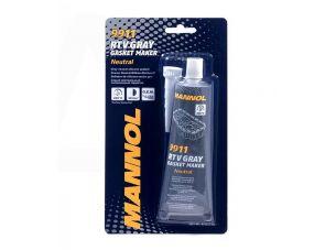 Герметик   85г   (серый)    (9911 RTV Gasket Maker Gray Neutral)   MANNOL