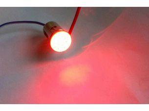 Лампа диодная S25 (поворот, габарит)   (одноконтактная, 10 диодов, красная)   GJCT