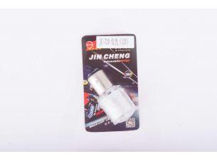 Лампа G18 (поворот, габарит)   12V 5W   (белая)   (mod:JC-720)   JCAA