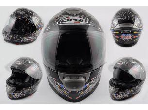 Шлем-интеграл   (mod:Fireworks) (size:XL, солнцезащитные очки)   CIRUS