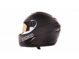 Шлем-интеграл   (mod:B-500) (size:L, черно-коричневый)   BEON