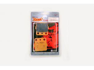 Колодки тормозные (диск)   Honda ATC 250R   (желтые)   YONGLI PRO