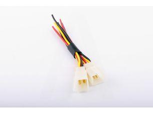 Коннектор   5 контактов   (папа, +провод)   XJB