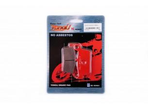 Колодки тормозные (диск)   Honda LEAD AF20   (красные)   YONGLI