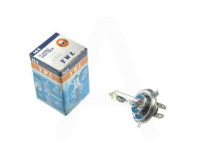 Лампа H4 (авто)   12V 18W/18W   (хамелеон розовый)   YWL