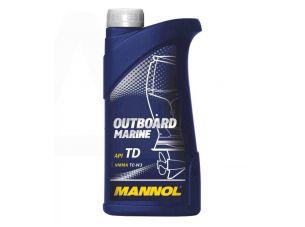 Масло   2T, 1л   (для лодок, гидроциклов, двигателей с водяным охлаждением, Outboard Marine API TD)   MANNOL