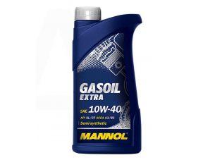 Масло   4T, 1л   (SAE 10W-40, полусинтетика, Gasoil Extra API SL/CF)   MANNOL