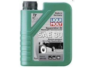 Масло   4T, 1л   (минеральное, SAE30 для газонокосилок, Rasenmaher-Oil 30l)   LIQUI MOLY   #3991
