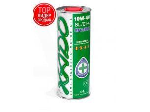 Масло автомобильное 1л   (полусинтетика, 10W-40SL/SI-4, Atomic Oil, MAX Drive)   (24109)   ХАДО