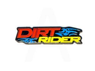 Наклейка   DIRT RIDER  (14х5см)