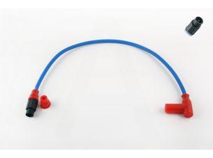 Бронепровод 550mm   (синий)   (+соединитель, насвечник Т- образный красный)   DM